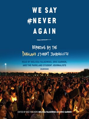 cover image of We Say #NeverAgain