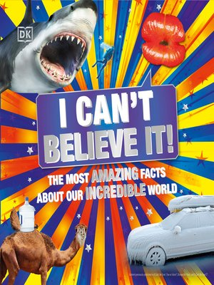 cover image of I Can't Believe It!