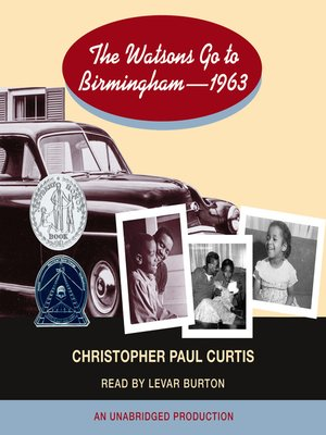 cover image of The Watsons Go to Birmingham - 1963