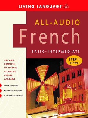 cover image of All-Audio French Step 1
