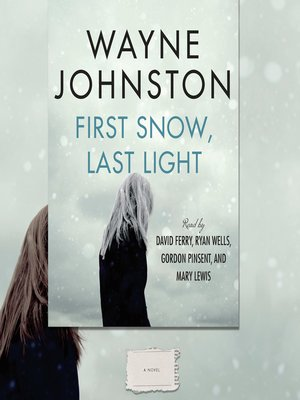 cover image of First Snow, Last Light