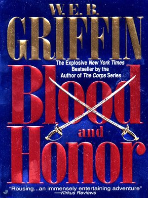cover image of Blood and Honor