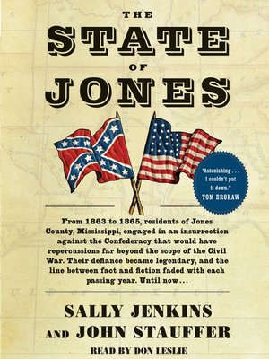 cover image of The State of Jones
