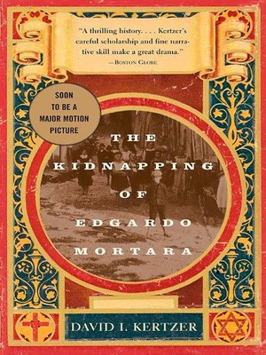 cover image of The Kidnapping of Edgardo Mortara