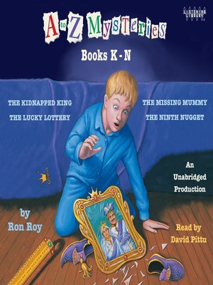 cover image of A to Z Mysteries, Books K-N