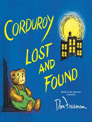 cover image of Corduroy Lost and Found