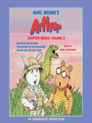 cover image of Marc Brown's Arthur Chapter Books, Volume 3