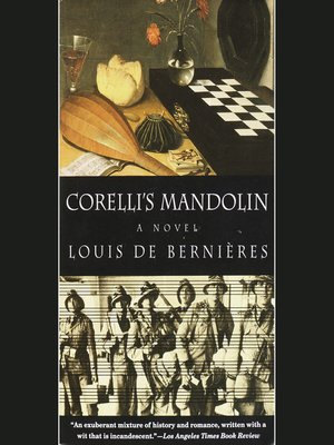 cover image of Corelli's Mandolin