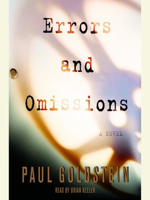 cover image of Errors and Omissions