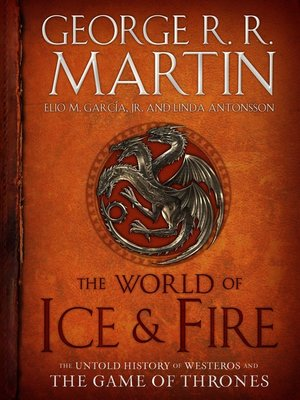 cover image of The World of Ice & Fire
