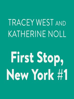 cover image of First Stop, New York