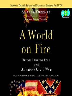 cover image of A World on Fire