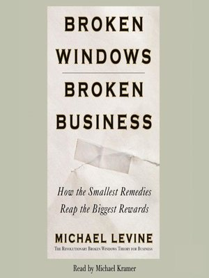 cover image of Broken Windows, Broken Business
