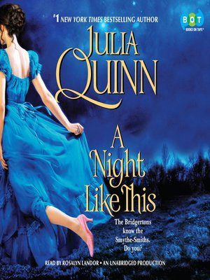 cover image of A Night Like This