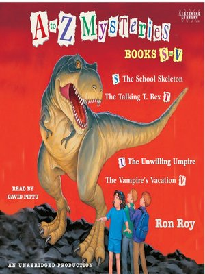 cover image of A to Z Mysteries, Books S-V