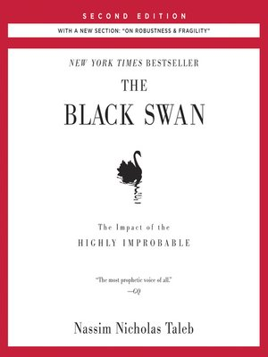 cover image of The Black Swan: The Impact of the Highly Improbable