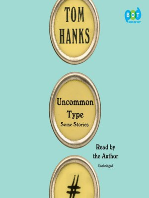 cover image of Uncommon Type