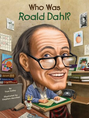 cover image of Who Was Roald Dahl?