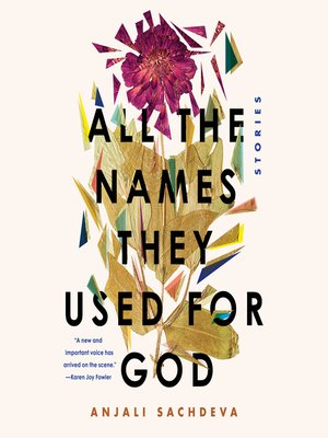 cover image of All the Names They Used for God