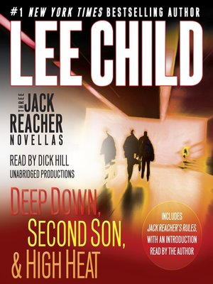 cover image of 3 Jack Reacher Novellas (with bonus Jack Reacher's Rules)