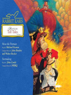 cover image of Rabbit Ears American Tall Tales, Volume 3