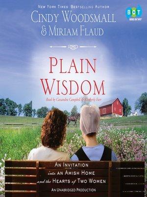cover image of Plain Wisdom