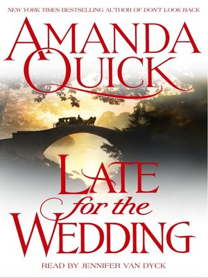 cover image of Late for the Wedding