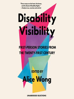 cover image of Disability Visibility