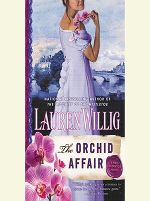 cover image of The Orchid Affair