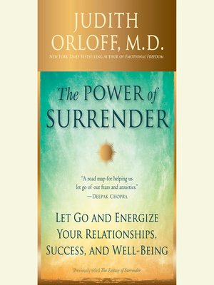 cover image of The Power of Surrender