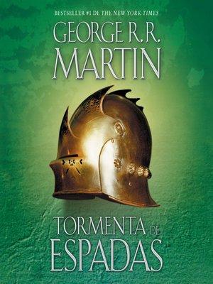 cover image of Tormenta de espadas