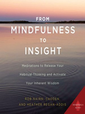 cover image of From Mindfulness to Insight
