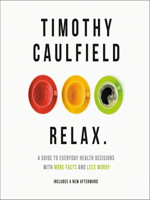 cover image of Relax, Dammit!