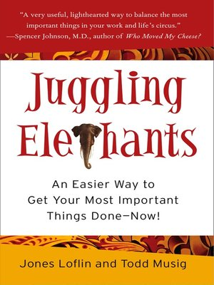 cover image of Juggling Elephants