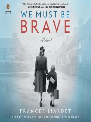 cover image of We Must Be Brave