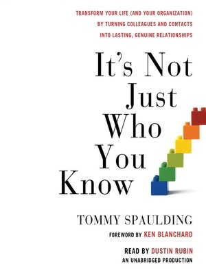 cover image of It's Not Just Who You Know