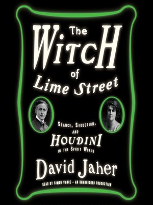 cover image of The Witch of Lime Street