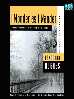 cover image of I Wonder as I Wander