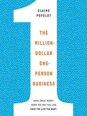 cover image of The Million-Dollar, One-Person Business
