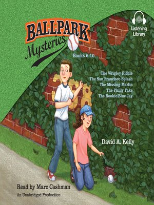 cover image of Ballpark Mystery Collection, Books 6 - 10