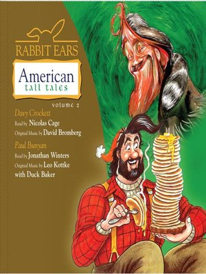 cover image of Rabbit Ears American Tall Tales, Volume 2