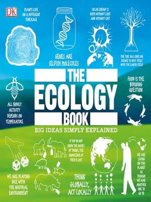 cover image of The Ecology Book
