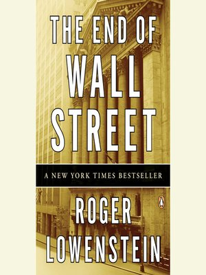 cover image of The End of Wall Street