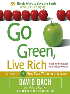 cover image of Go Green, Live Rich