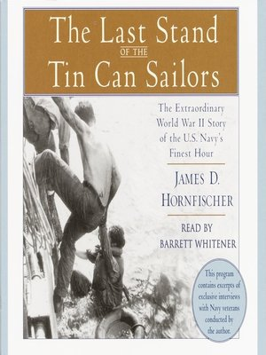 cover image of The Last Stand of the Tin Can Sailors