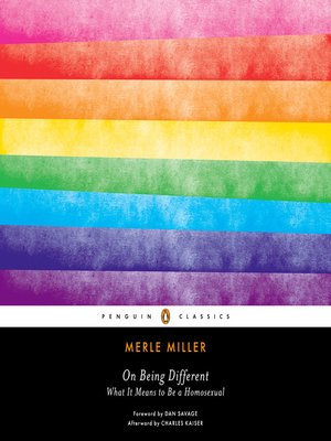 cover image of On Being Different