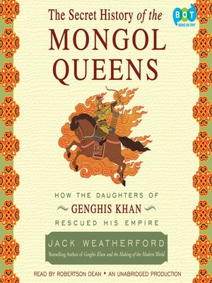 cover image of The Secret History of the Mongol Queens
