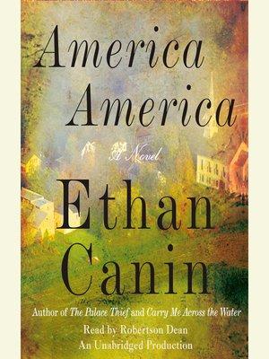 cover image of America America