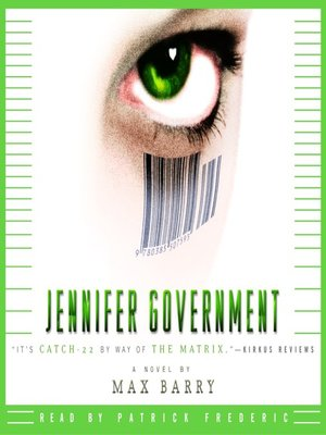 cover image of Jennifer Government