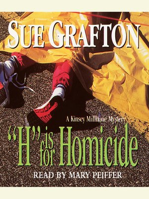 "cover image of ""H"" is for Homicide"